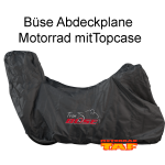 Büse Abdeckplane Motorrad mit Topcase '17