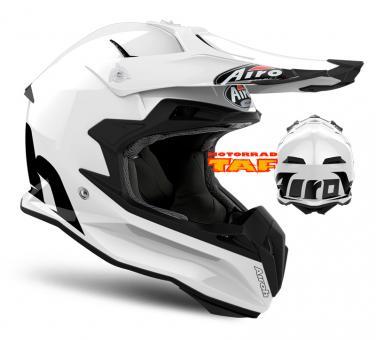 Airoh Terminator Open Vision Color White '18