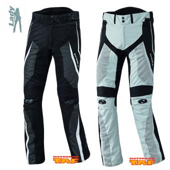 DM HELD Vento Damen Textilhose Farbe grau//schwarz Größe