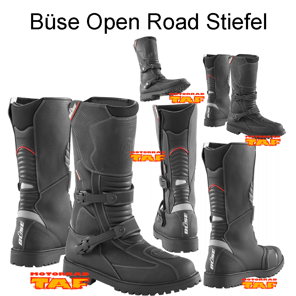 motorrad taf b se open road stiefel 39 18. Black Bedroom Furniture Sets. Home Design Ideas